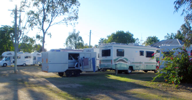 Blackall Caravan Park - Powered Sites